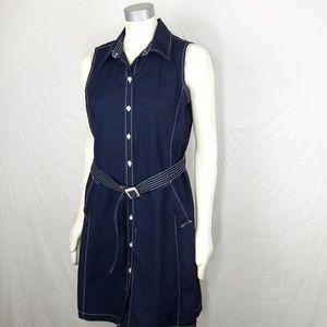 Isaac Mizrahi Shirt Dress